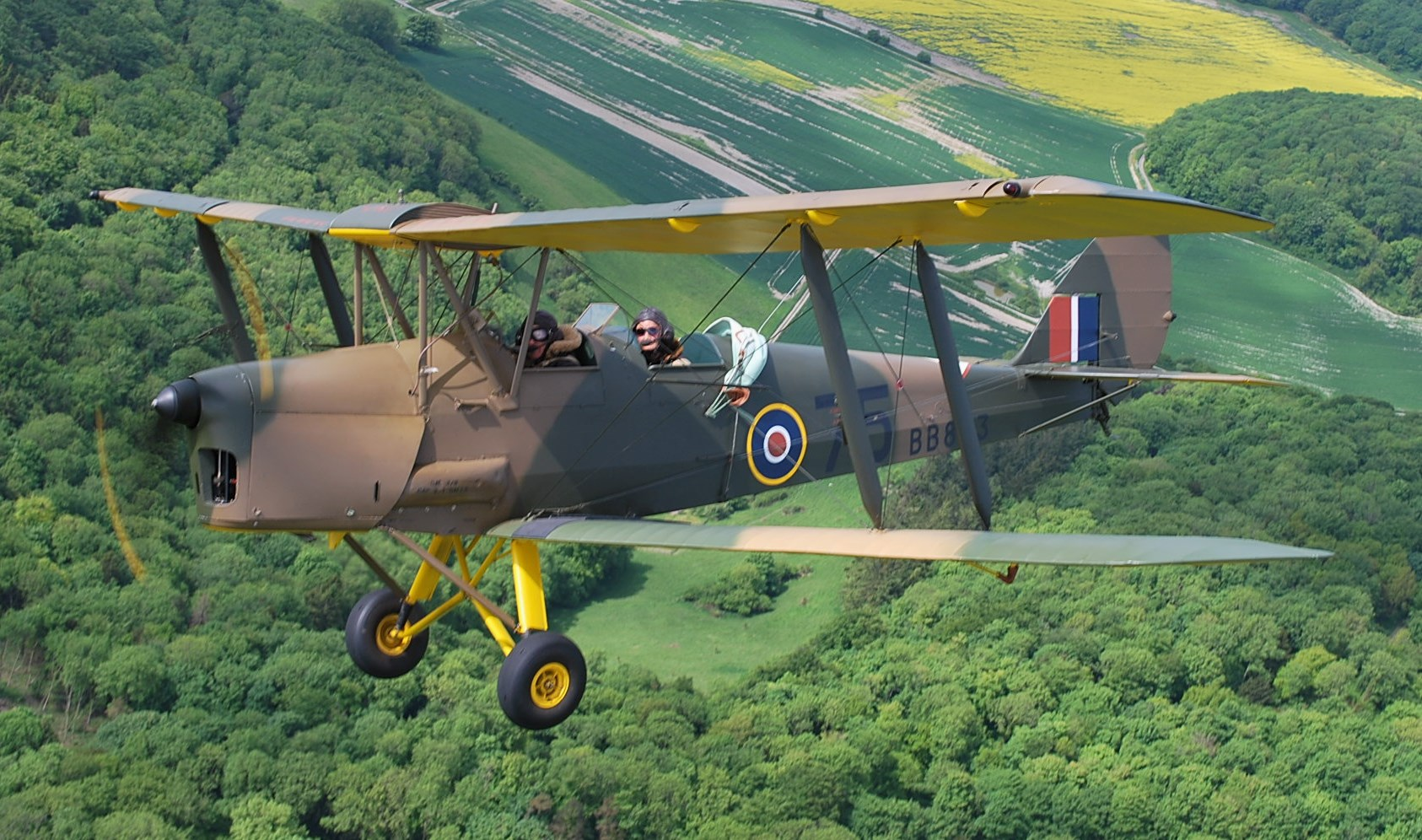 de Haviland Tiger Moth DH 82 A - BB803 G-ADWJ